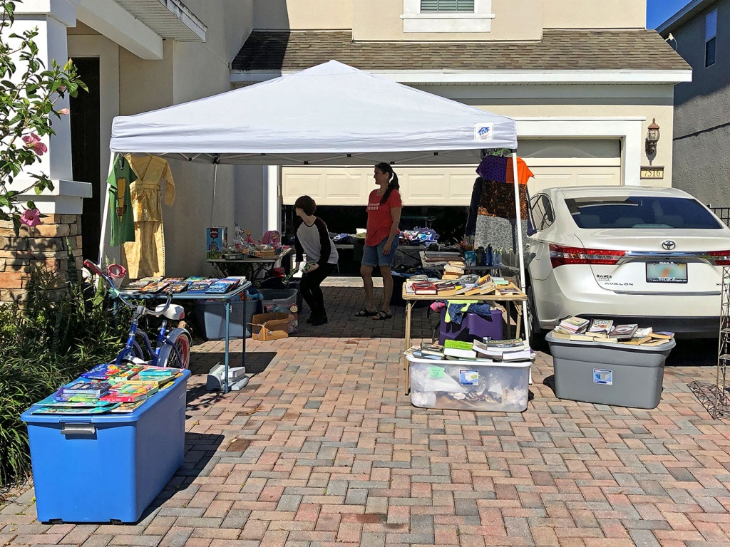 Lake Sawyer South Spring 2019 Garage Sale