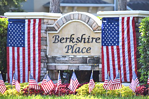 Berkshire Park 4th of July Decorations